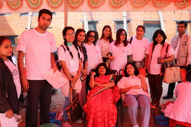 नेपाल महिला चेम्बरको आयोजनामा रक्तदान