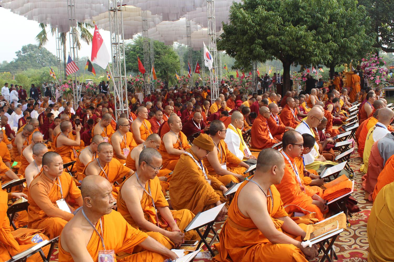 लुम्बिनीमा पहिलो पटक अन्तर्राष्ट्रिय त्रिपिटक वाचन