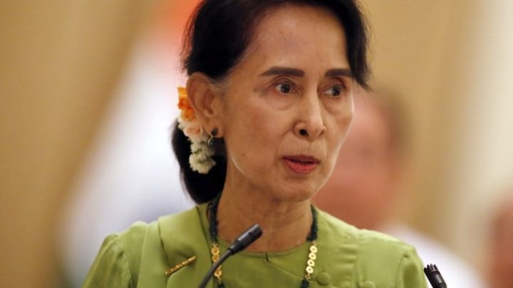 म्यानमारकी नेत्री सुकीको खोसियो मानव अधिकार पुरस्कार