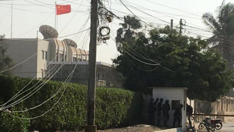 कराँचीस्थित चिनियाँ महावाणिज्य दूतावासमा बन्दुकधारीद्वारा आक्रमण, पाँच जनाको मृत्यु