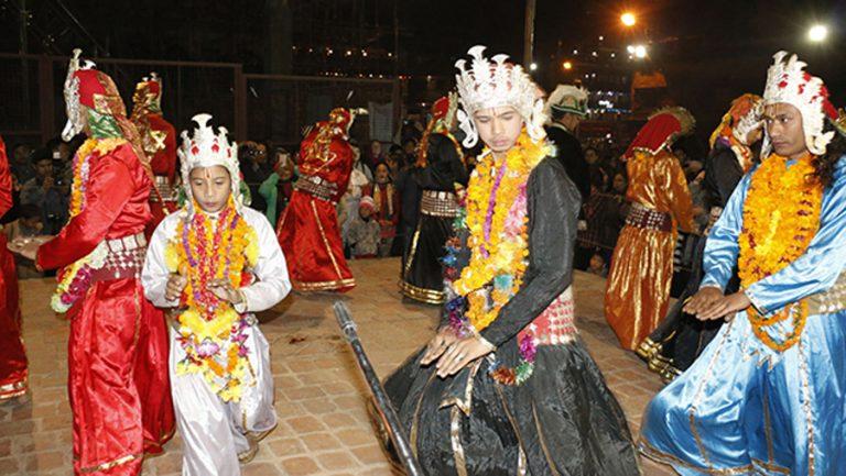 ललितपुरमा ३७८ वर्ष पुरानो कात्तिक नाच
