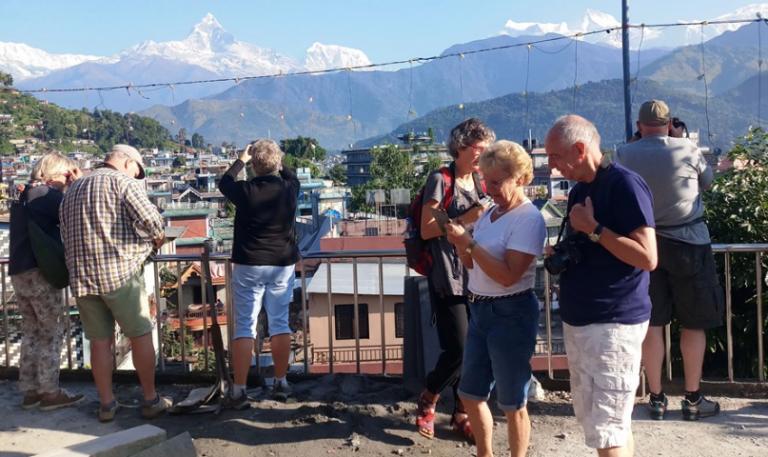 सन् २०१८ मा १० लाखभन्दा बढी पर्यटकले नेपाल भ्रमण गरे
