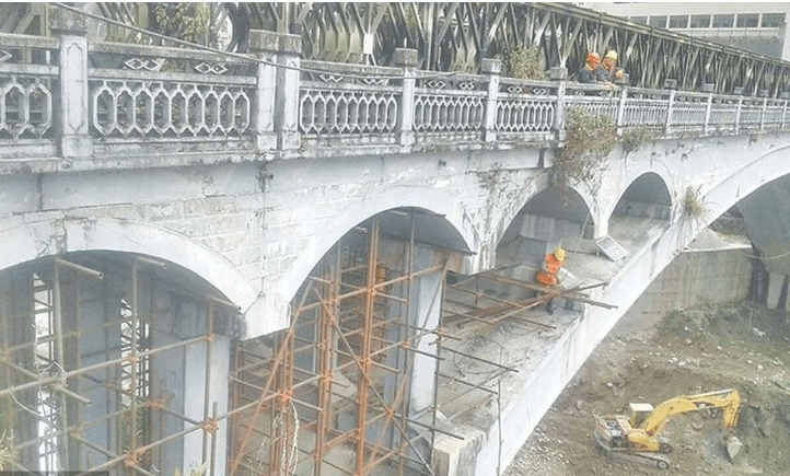 चीन जोड्ने मितेरी पुलको पुनर्निर्माण कार्य सुरु , तातोपानी नाका खुल्ने ग्रिन सिग्नल