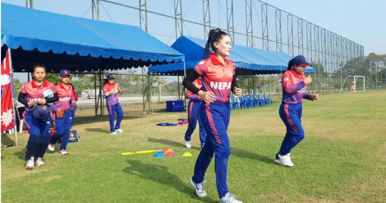थाइल्यान्डसँग हार्दा नेपाली महिलाको विश्वकप सपनामा धक्का