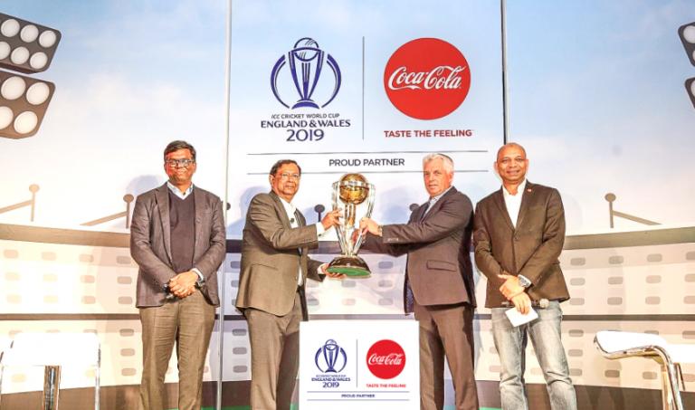 कोका–कोला र आईसीसीबीच साझेदारी