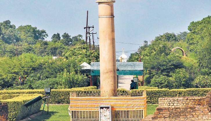 लुम्बिनीको अशोक स्तम्भ संरक्षणमा जोड