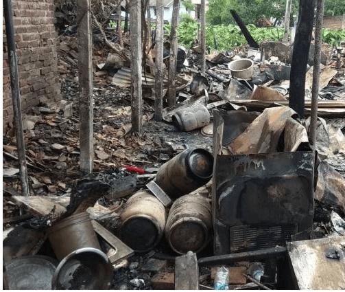 जनकपुरमा आठवटा सिलिन्डर विस्फोट, तीनवटा होटल जले
