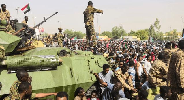 सुडानमा सैनिक शासनको दमन  —आर शर्मा